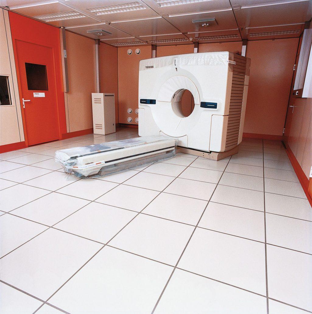 Pavimento antistatico in ceramica KerAion ELA 10.6 BUCHTAL
